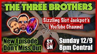 LIVE YT EVENT • THE THREE BROTHERS with SPECIAL GUEST Jen's Universe • Chat & Hangout!