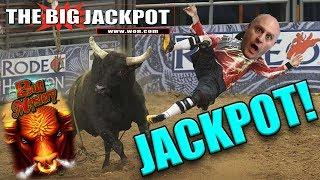 • LINE HIT JACKPOT • BULL MYSTERY FINALLY PAYS OUT at $30/ SPIN!!