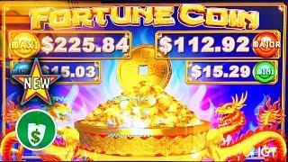 •️ New - Fortune Coin slot machine, 2 sessions