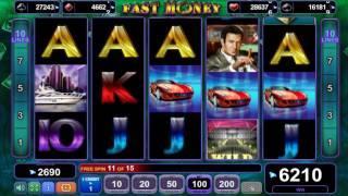 Fast Money slot - 7,860 win!