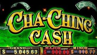 •NEW SLOT• CHA-CHING CASH Slot Machine  MAX BET BONUSES Won | Live Slot Play w/NG SLot