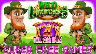 ⋆ Slots ⋆ SUPER FREE GAMES X2 ⋆ Slots ⋆ WILD LEPRE'COINS | WONDER 4 TALL FORTUNES SLOT MACHINE | Slot Traveler