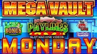 • LIVE: MEGA VAULT MONDAY!!  • U-CHOOSE • AT THE SLOT MUSEUM PLAYING WITH VIEWERS!