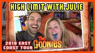 •Julie + Brian do HIGH LIMIT Slots and more! •EAST COAST TOUR • Brian Christopher Slots
