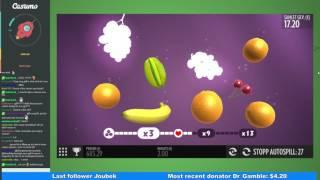 Fruit Warp - Big win - Grapes