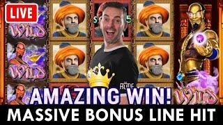 ★ Slots ★ My WISHES are GRANTED ★ Slots ★ MASSIVE BONUS LINE HIT on PlayLuckyLand Social Casino ★ Sl