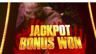 Walking Dead 2 Slot Machine, Max Bet Bonus, Jackpot Bonus, slot Machine Bonus, By Aristocrat