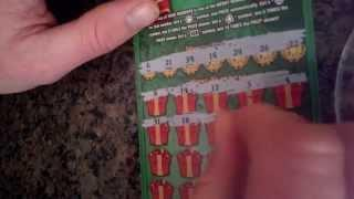 Scratch Off Tips, $20 Merry Millionaire Book of Tickets, Part 4