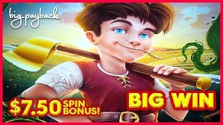 1ST SPIN AT MAX BET RUMBLE!! Jack's Riches Slot - BIG WIN SESSION!