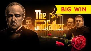 The Godfather Slot - NICE SESSION, ALL FEATURES!