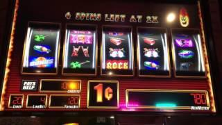 Hot Hot Re-Spin Rock & Roll Slot Machine ~ FREE SPIN BONUS! ~ HOT HOT RE-SPIN! • DJ BIZICK'S SLOT CH