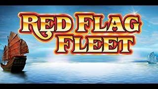 WMS Red Flag Fleet | MEGA LINE HIT 40 CENT BET | MEGA MEGA BIG WIN!!!!