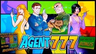 Agent 777 Slot - GREAT SESSION, ALL FEATURES!