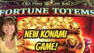 NEW KONAMI FORTUNE TOTEMS BONUSES! LOVE OR HATE IT?