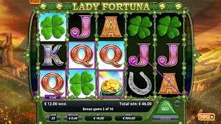 Lady Fortuna slots - 208 win!