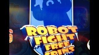 SUPER TEAM - ROBOT FIGHT - BIG WIN - WMS SLOT MACHINE
