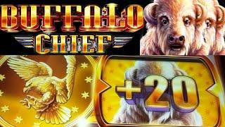 ⋆ Slots ⋆FIRST EVER BONUS LANDED ON BUFFALO CHIEF⋆ Slots ⋆ Is it worth the Hype⋆ Slots ⋆