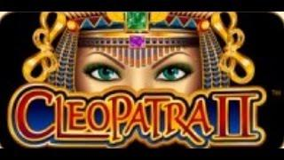 CLEOPATRA II slot machine JACKPOT!
