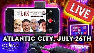 • Atlantic City Ocean Casino Live Slot and Pokie Play ‼️