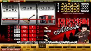 Mayflower Russian Attack 3 Lines Classic Slot