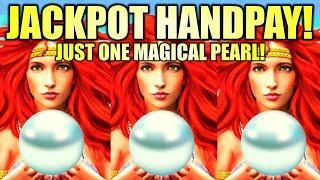 ⋆ Slots ⋆JACKPOT HANDPAY!⋆ Slots ⋆ JUST ONE MAGICAL PEARL! LIGHTNING LINK Slot Machine (Aristocrat Gaming)
