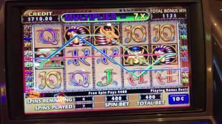 Cleopatra 2 Bonus WIN on the Harmony of the Sea