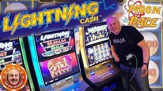 $25 Spins •NEW Lightning Cash Moon Race! •BONU$ ROUND Handpay •| The Big Jackpot