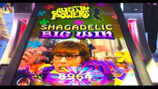 """FIRST LOOK! NEW """"AUSTIN POWERS"""" Slot (All Features) DEMO @ G2E & SG"""