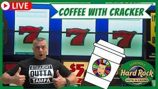 ⋆ Slots ⋆LIVE! Christmas Coffee & Slots Hardrock Tampa.