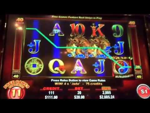 Ainsworth big HAND PAY JACKPOT high limit slot machine $20