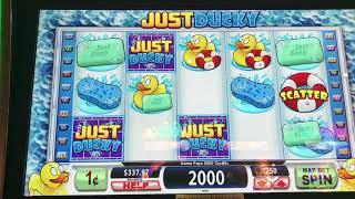 Just Ducky Free Spins and Bonus Games at Kickapoo Lucky Eagle Casino