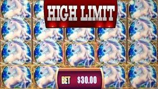 $30 BET BONUS IN THE HIGH LIMIT ROOM! • HUGE WINS WITH EZ •