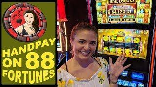 Handpay Jackpot on 88 Fortunes featuring Gambino Slots