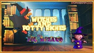 • HALLOWEEN SLOTS! Witches and the Potty Riches •