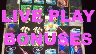 LIVE PLAY on Walking Dead Slot Machine with Bonuses