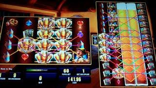 Colossal Bier Haus Slot Machine Bonus - 10 Free Games with Sticky Wilds - Nice Win