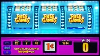 ++NEW Triple Double Diamond Slot Machine, Live Play & Nice Bonus