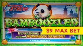Bamboozled Slot - $9 Max Bet - GREAT SESSION!