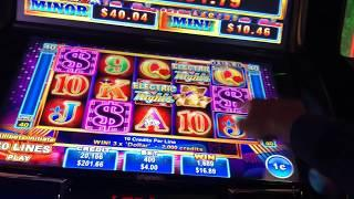 ELECTRIC NIGHTS SLOT !!!! TONS OF BONUSES !!!! HUGES WINS !!!!