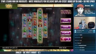 BIG WIN!!!! White Rabbit Big win - Casino - Bonus Round (Huge Win)