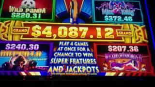 Miss Kitty Wonder 4 Jackpots Super Free Games Slot Machine Bonus (3 clips)