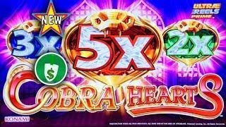 •️ New - Cobra Hearts slot machine