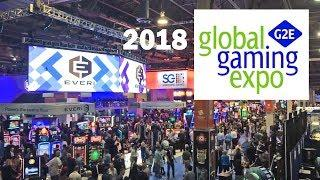 2018 Global Gaming Expo G2E Ad