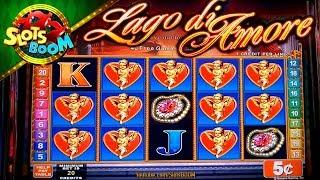 Lago di Amore BONUSES !!! LIVE PLAY 5c KONAMI Video Slot in San Manuel Casino