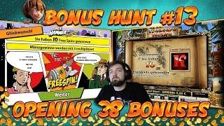 BONUS HUNT #13 - OPENING 38 SLOT BONUSES LIVE ON STREAM! - BIG WINS?