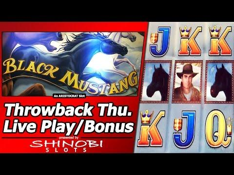 Black Mustang Slot - TBT Double or Nothing, Live Play and Free Spins