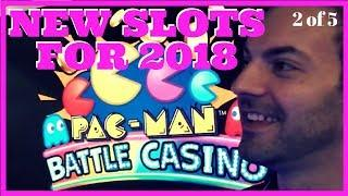 • NEW Slots for 2018 • • Madonna + PAC MAN + West World + MORE • Brian Christopher @ G2E HD
