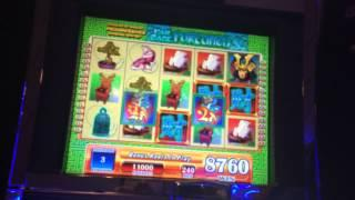 Far East Fortunes Slot Machine Bonus - BIG WIN!!