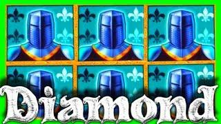 NEW GAME! • BIGGEST WIN ON YOUTUBE •On BLACK KNIGHT DIAMOND Slot Machine • BONUS! • SDGuy1234