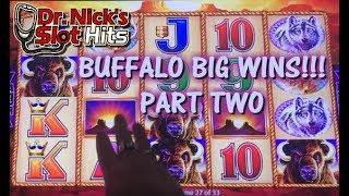 **BIG WINS ON WONDER 4 WONDER WHEEL!!!** Buffalo Gold Part Two